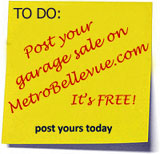 Bellevue/Eastside & Seattle garage sale map | MetroBellevue.com